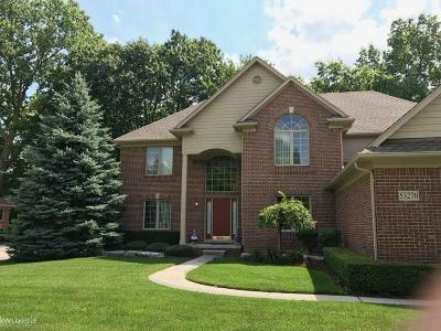 Shelby Twp Single Family Home For Sale: 53270 Williams Way
