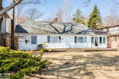 St. Clair Single Family Home For Sale: 5090 Lakeshore