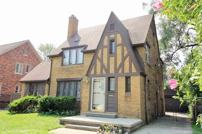 Grosse Pointe Park Single Family Home For Sale: 1415 Grayton