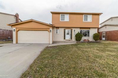 Sterling Heights Single Family Home For Sale: 36843 Kyro Ct