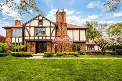 Grosse Pointe Shores Single Family Home For Sale: 54 Regal Place