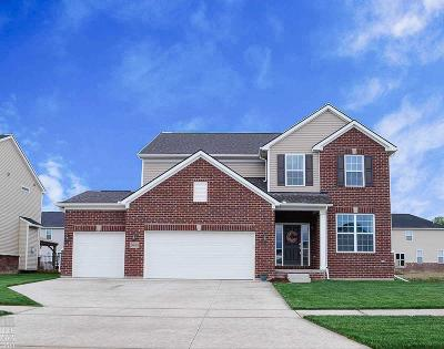 Macomb Single Family Home For Sale: 24068 Dartmoor Dr