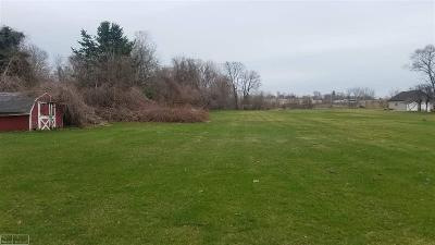 Clinton Township Residential Lots & Land Pending: 42040 Little Road