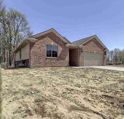 New Baltimore  Single Family Home For Sale: 54459 Malibu Ln