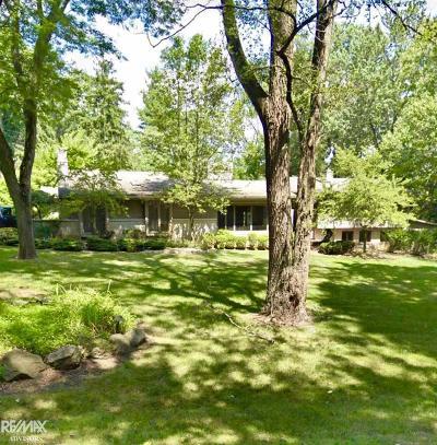 Oakland Single Family Home For Sale: 25958 Hersheyvale