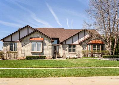 Macomb Twp Single Family Home For Sale: 52327 Powderhorn