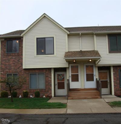Macomb Condo/Townhouse For Sale: 15726 Orchard Lane