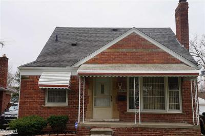 Harper Woods Single Family Home For Sale: 20540 Woodmont
