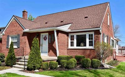 Saint Clair Shores Single Family Home For Sale: 20209 Shady Lane Ave