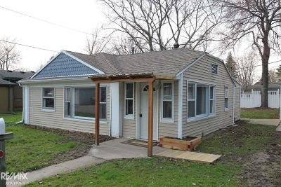 Algonac Single Family Home For Sale: 410 Edgewater