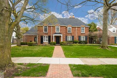 Grosse Pointe Farms Single Family Home For Sale: 34 Newberry Pl