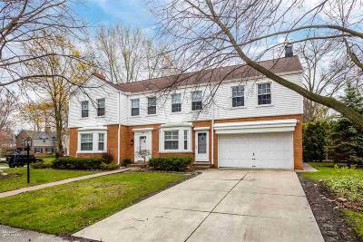 Grosse Pointe Park Single Family Home For Sale: 1099 Grayton