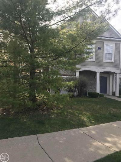 Harrison Twp Condo/Townhouse For Sale: 25658 Maritime Circle S.