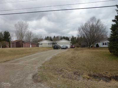 Burtchville Single Family Home For Sale: 3774 Myrtle