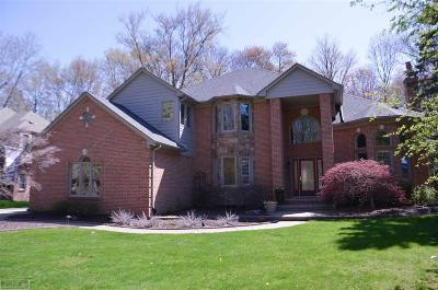 Shelby Twp Single Family Home Back On Market: 53336 Hunters Crossing