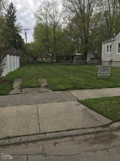 Saint Clair Shores Residential Lots & Land For Sale: 22313 Helen