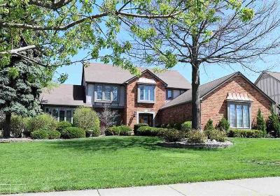Troy Single Family Home For Sale: 1868 Rolling Woods