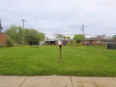 Warren Residential Lots & Land For Sale: 12291 E 11 Mile Rd
