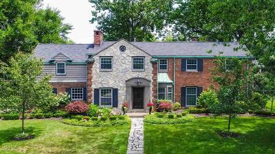 Grosse Pointe Park Single Family Home For Sale: 1096 Grayton