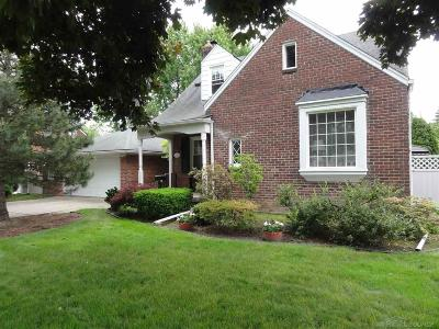 Saint Clair Shores Single Family Home For Sale: 22432 Statler