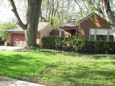 Harper Woods Single Family Home For Sale: 20601 Fleetwood