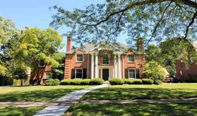 Grosse Pointe Park Single Family Home For Sale: 1006 Buckingham
