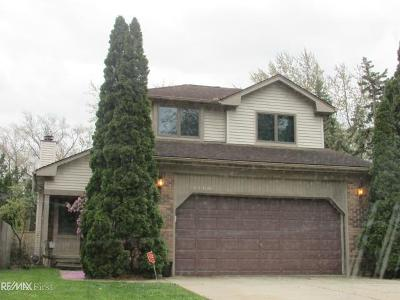 Saint Clair Shores Single Family Home For Sale: 22300 Yale