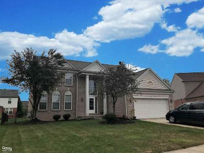 Macomb MI Single Family Home For Sale: $374,500