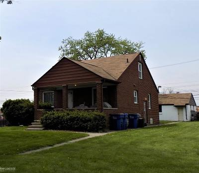 Warren Single Family Home For Sale: 32609 Ruehle Ave