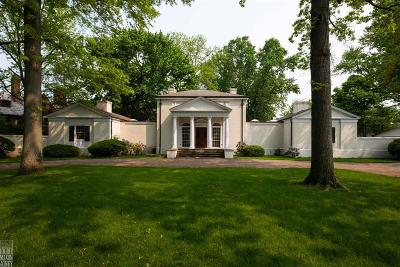 Grosse Pointe Farms Single Family Home For Sale: 320 Provencal Rd