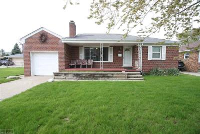 Macomb Single Family Home For Sale: 16153 Bell Avenue