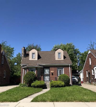 Detroit Single Family Home For Sale: 11132 Craft St
