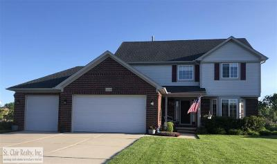 Saint Clair Single Family Home For Sale: 1238 S River Pointe Ln