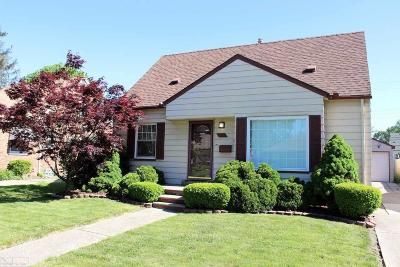 Saint Clair Shores Single Family Home For Sale: 21711 Alger