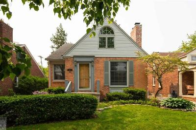 Grosse Pointe Farms Single Family Home For Sale: 387 Mount Vernon Ave