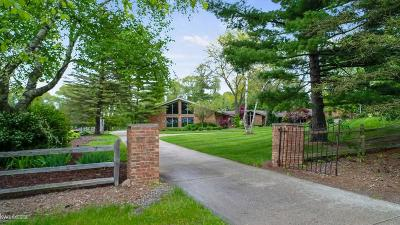 Lapeer Single Family Home For Sale: 2747 S Van Dyke Rd