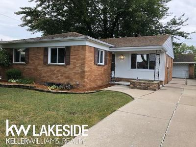 Saint Clair Shores Single Family Home For Sale: 21524 Briarcliff St