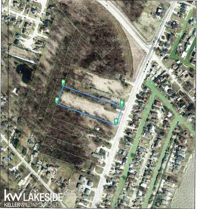 Chesterfield Twp Residential Lots & Land For Sale: Jefferson Ave