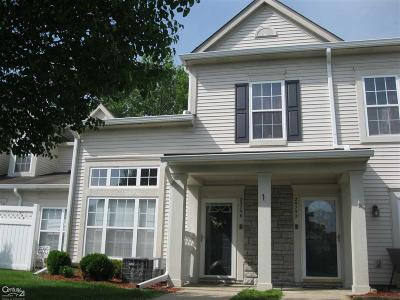 Harrison Twp Condo/Townhouse For Sale: 25756 Maritime