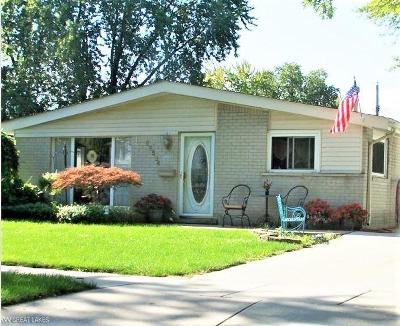 Saint Clair Shores Single Family Home For Sale: 22524 Detour Street
