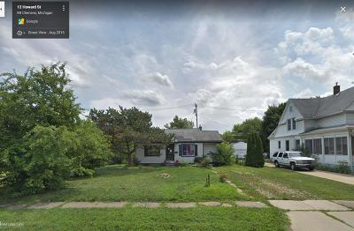 Mount Clemens Single Family Home For Sale: 12 Howard St