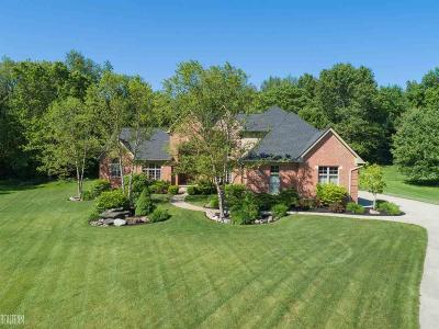 Clarkston Single Family Home For Sale: 8113 Pine Knob Meadows