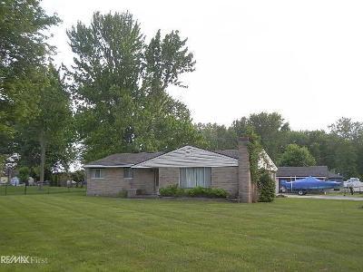Harsens Island Single Family Home For Sale: 223 La Croix