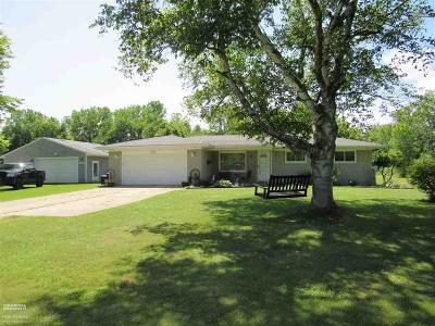 Casco Single Family Home For Sale: 3970 Mayer Rd