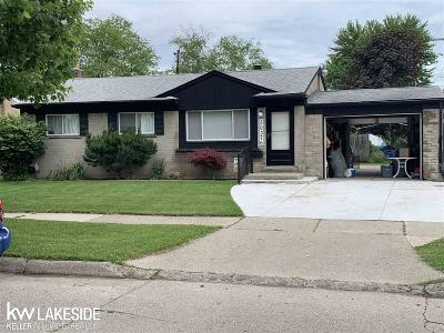 Warren Single Family Home For Sale: 30376 Flanders Ave