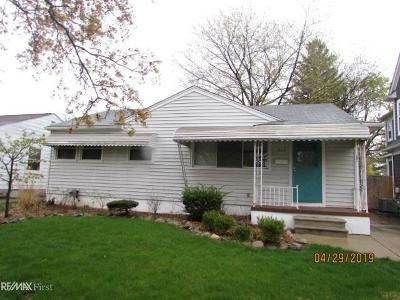 Royal Oak Single Family Home For Sale: 612 N Vermont