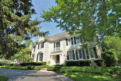 Grosse Pointe Farms Single Family Home For Sale: 254 Grosse Pointe Blvd.
