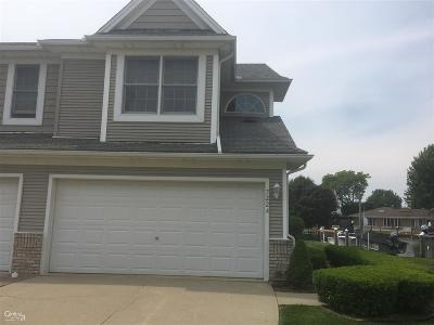 St. Clair Condo/Townhouse For Sale: 7224 Harbor Dr