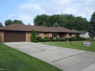 Macomb Single Family Home For Sale: 33846 Roselawn