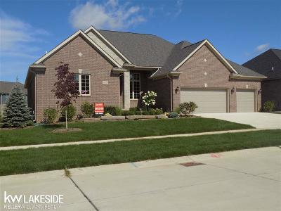 Macomb Single Family Home For Sale: 62629 Sawgrass Dr